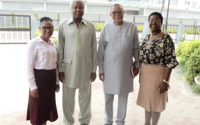 SOUTH AFRICAN CONSUL GENERAL'S VISIT TO NIIA